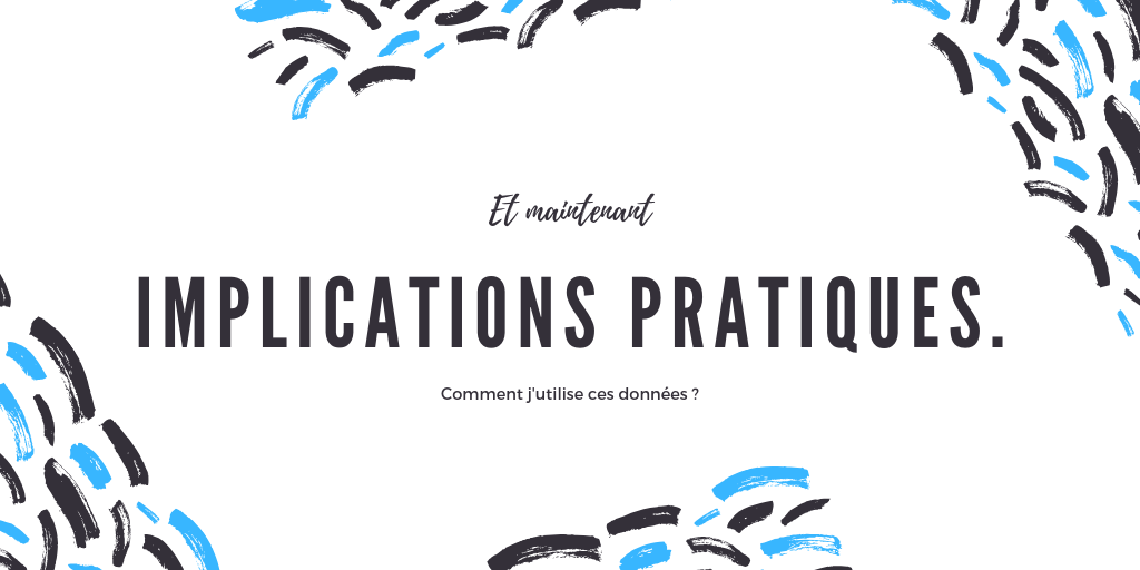 Implications pratiques